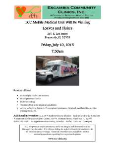 medical unit flyer - loaves and fishes 7.7.15