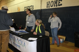 City of Pensacola Housing served clients at the 2016 U-Count